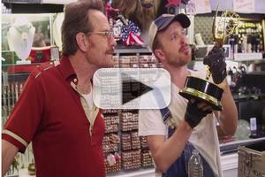 VIDEO: BREAKING BAD's Bryan Cranston & Aaron Paul Reunite in Hilarious New Emmy TV Spot