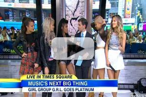 VIDEO: The Ladies of G.R.L. Chat Working on Pitbull's 'Wild Wild Love'