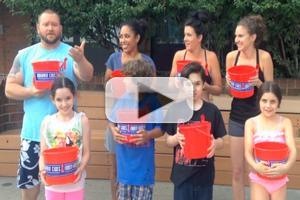 BWW TV: LES MISERABLES Cast Accepts Ice Bucket Challenge from ONCE!