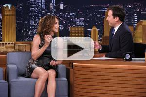 VIDEO: Amy Brenneman Talks 'The Leftovers' & More on TONIGHT SHOW