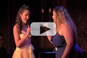 STAGE TUBE: Laura Osnes and Bonnie Milligan Duet Sing a Princess Duet!