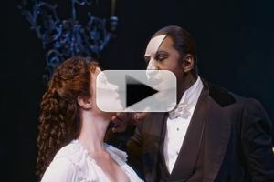 STAGE TUBE: Watch Broadway's Latest Phantom Norm Lewis Sing 'The Music of the Night'