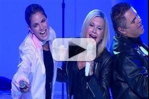 VIDEO: Natalie Morales Joins GREASE Star Olivia Newton John for 'Summer Nights'