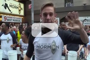 VIDEO: Cast of BOOK OF MORMON Accepts ALS Ice Bucket Challenge!