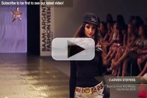 VIDEO: Carmen Steffens Buenos Aires Alta Moda Fall Winter 2014