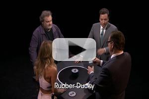 VIDEO: Fallon Plays Catchphrase w/ Artie & Giada