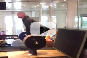 VIDEO: Hugh Jackman Posts Extreme Workout Video