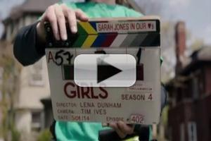 VIDEO: Lena Dunham Shares GIRLS Sneak Peek