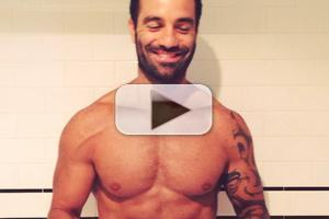 STAGE TUBE: Broadway's Resident 'Jean Valjean,' Ramin Karimloo, Takes ALS Ice Bucket Challenge