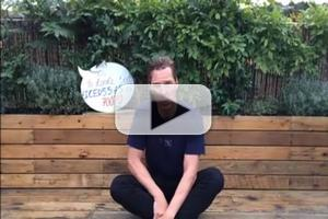 VIDEO: Benedict Cumberbatch Accepts Ice Bucket Challenge in His Own Creative Way