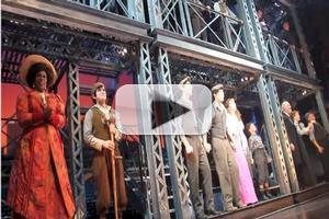 STAGE TUBE: Watch the NEWSIES Cast Take Their FINAL Energetic Curtain Call!