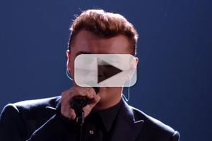 STAGE TUBE: Sam Smith Delivers Emotional Performance of STAY WITH ME on VMAs