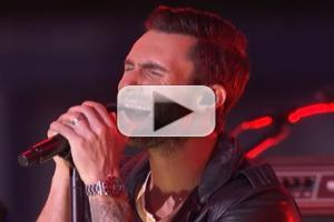 STAGE TUBE: Adam Levine and Maroon 5 Wow Audience Outside the VMAs With MAPS and ONE MORE NIGHT