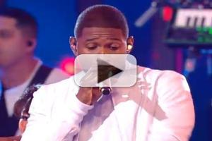 STAGE TUBE: Watch Usher and Nicki Minaj Perform Latest Hit, SHE CAME TO GIVE IT TO YOU at the VMAs!