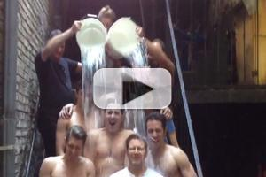 STAGE TUBE: Alan Cumming and CABARET Cast Accept Ice Bucket Challenge from NEWSIES
