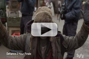 VIDEO: Sneak Peek at DEFIANCE Season Finale, Behind the Scenes of Eps 10 & 11