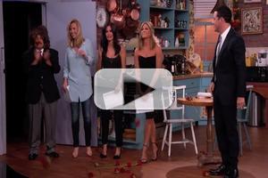VIDEO: JIMMY KIMMEL Stages 20th Anniversary FRIENDS Mini-Reunion