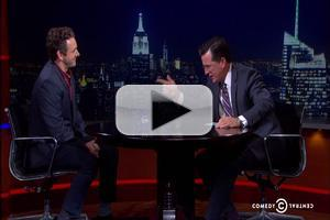 VIDEO: Stephen Colbert Chats with MASTERS OF SEX's Michael Sheen