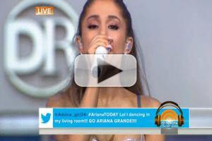 VIDEO: Ariana Grande Rocks TODAY SHOW Plaza
