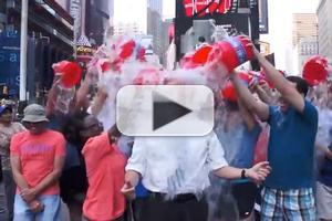STAGE TUBE: BC/EFA's Tom Viola & Company Get Soaked for ALS!