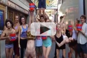 STAGE TUBE: PIPPIN's Broadway Cast Gets Drenched for ALS!