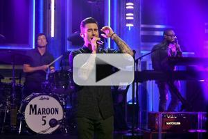 VIDEO: Maroon 5 Perform Hit Song 'Maps' on TONIGHT SHOW