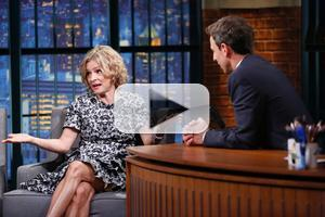 VIDEO: Funny Lady Amy Sedaris Stops by LATE NIGHT WITH SETH MEYERS