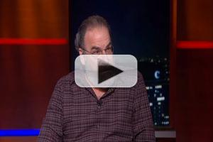 VIDEO: Mandy Patinkin Reveals He Wants to Be Next Prime Minister of Israel on COLBERT