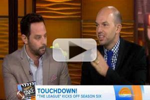 VIDEO: THE LEAGUE's Nick Kroll & Paul Sheer Talk Season 6 on 'Today'