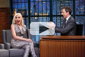 VIDEO: Gwen Stefani Talks THE VOICE & More on LATE NIGHT