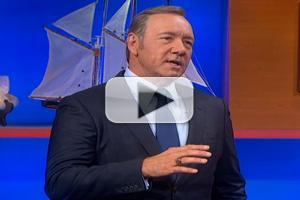 VIDEO: Kevin Spacey's 'President Underwood' Offers Leadership Advice on COLBERT