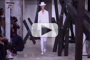 VIDEO: Songzio Paris Menswear Collection S/S 2015