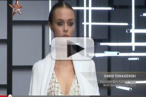 VIDEO: Dawid Tomaszewski Mercedes Benz Fashion Week Berlin S/S 2015