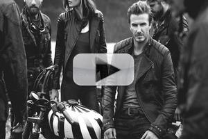 STAGE TUBE: David Beckham Joins Photographer Peter Lindbergh to Launch OFF ROAD Book