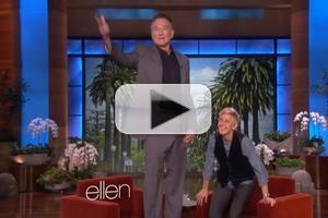 VIDEO: ELLEN Pays Tribute to Comedy Legends Robin Williams, Joan Rivers