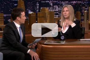 VIDEO: Barbra Streisand Talks New Album 'Partners' & Much More on TONIGHT SHOW