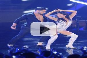 VIDEO: Broadway's Janel Parrish Dances the Jive on DWTS Premiere
