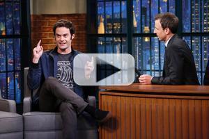 VIDEO: SNL's Bill Hader Talks Origin of 'Stefon' & More on LATE NIGHT