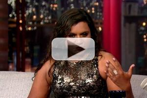 VIDEO: Mindy Kaling Talks Mind Blowing Nude Photos on LATE SHOW
