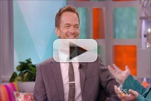 VIDEO: Neil Patrick Harris Shares Wedding Details & More on THE VIEW