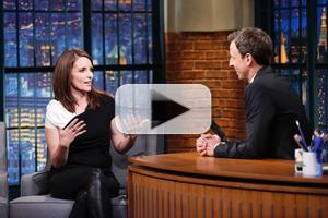 VIDEO: Tina Fey Talks New Film, SNL & More on LATE NIGHT