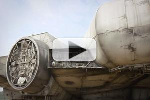 VIDEO: Get a First Look at STAR WARS EPISODE VII's Millennium Falcon!