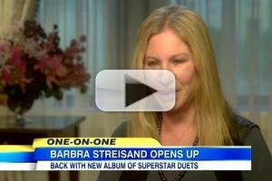 VIDEO: Barbra Streisand Talks New Album 'Partners' & More on GMA