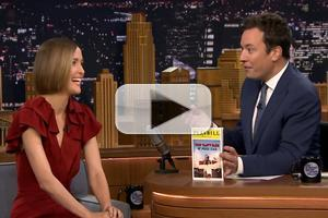 VIDEO: Rose Byrne Talks Broadway Debut in 'You Can't Take It With You' on TONIGHT