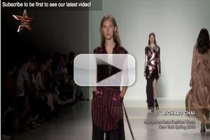 VIDEO: Richard Chai at NYFW Spring 2015