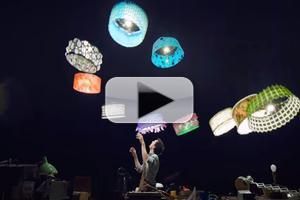 STAGE TUBE: Cirque du Soleil Turns Drones Into Magical Flying Lampshades