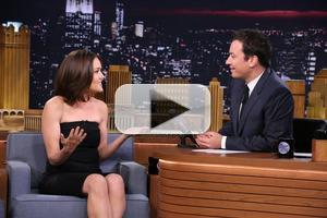 VIDEO: Megan Boone Talks New Season of THE BLACKLIST on Tonight Show