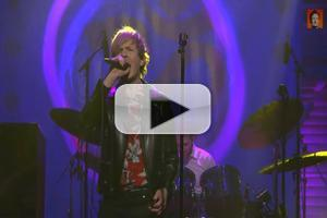 VIDEO: Beck Kicks Off CONAN's George Harrison Week with 'Wah-Wah' Performance
