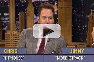 VIDEO: Chris Pratt Plays 'Word Sneak'; Talks Hosting SNL on TONIGHT SHOW