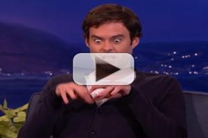 VIDEO: Bill Hader Does Spot On Impressions of SNL Castmates on CONAN
